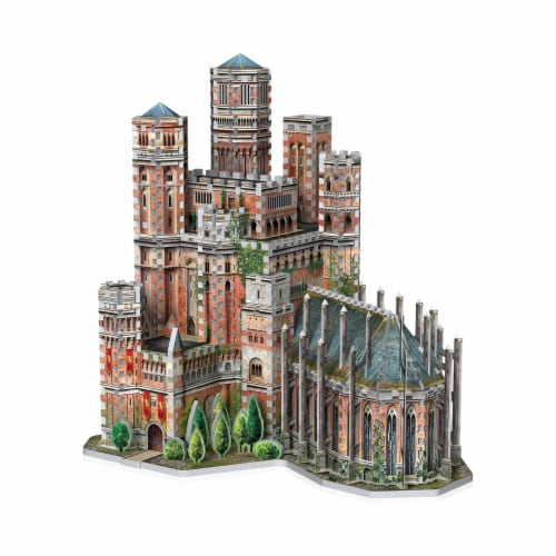 Wrebbit Game of Thrones The Red Keep 3D Puzzle Perspective: left