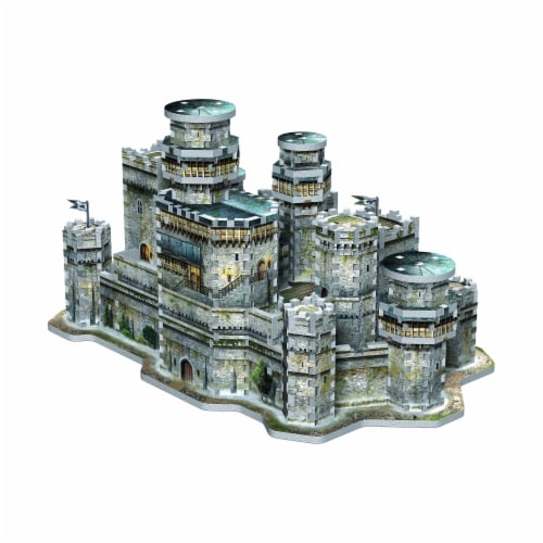 Wrebbit Urbania Collection 3D Puzzle Perspective: left