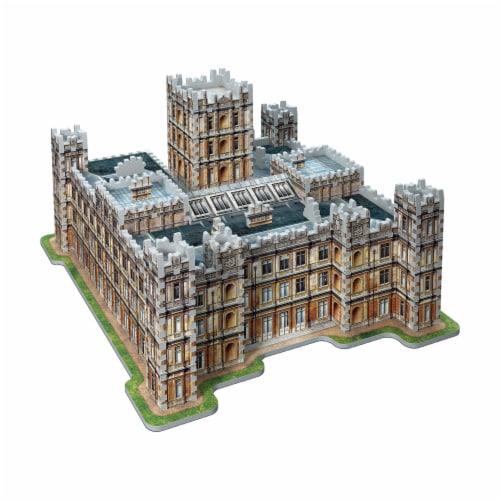 Wrebbit Downton Abbey 3D Puzzle Perspective: left