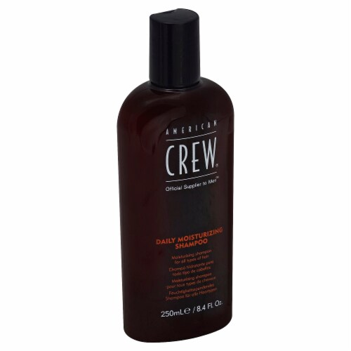 American Crew Daily Moisturizing Shampoo for Men Perspective: left
