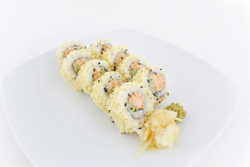 Crunchy Shrimp Roll (NOT AVAILABLE BEFORE 11:00 AM DAILY) Perspective: left