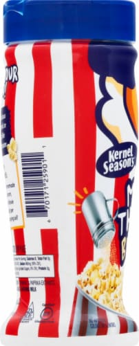 Kernel Season's Jumbo Movie Theater Butter Salt Seasoning Perspective: left