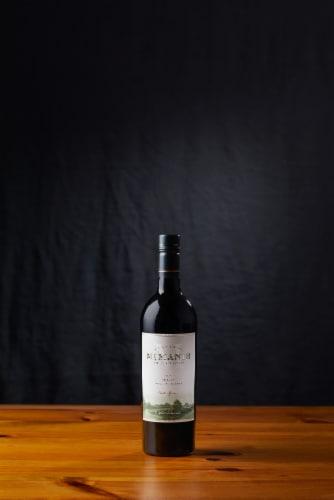 McManis Family Vineyards Merlot Red Wine Perspective: left