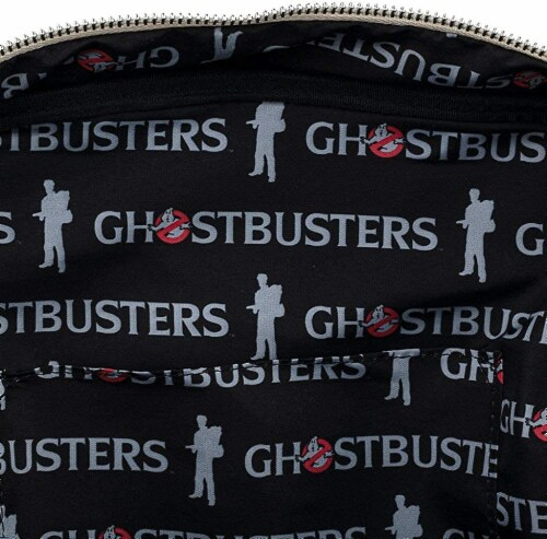 Loungefly Ghostbusters Cosplay Square Canvas Backpack Perspective: left