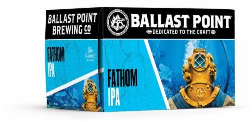 Ballast Point Fathom IPA Craft Beer Perspective: left