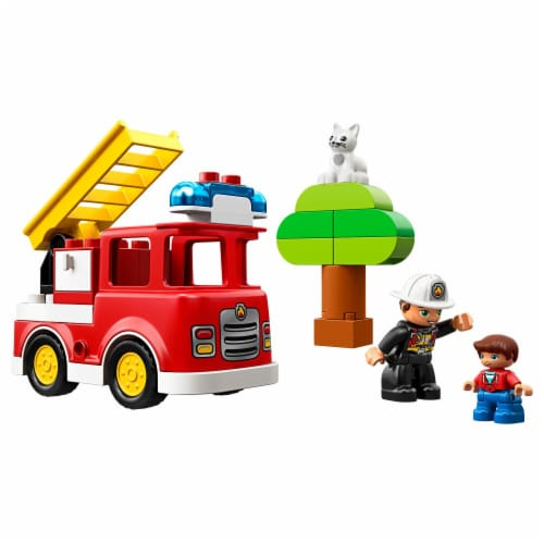 LEGO® Duplo Fire Truck Building Toy Perspective: left