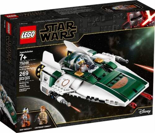 LEGO® Star Wars Resistance A-Wing Starfighter™ Perspective: left