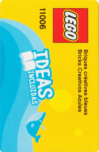 11006 LEGO® Classic Creative Blue Bricks Perspective: left