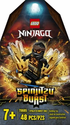 70685 LEGO® Ninjago Spinjitzu Burst Cole Building Toy Perspective: left