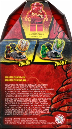 70686 LEGO® Ninjago Spinjitzu Burst Building Toy Perspective: left