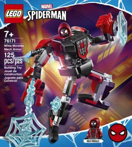 76171 LEGO® Marvel Spider-Man Mile Morales Mech Armor Perspective: left