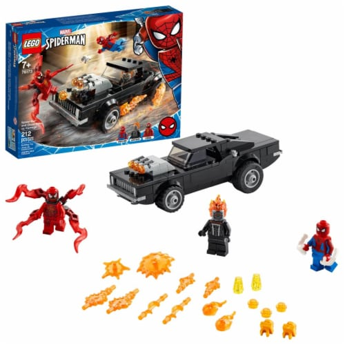 LEGO® Spider-Man and Ghost Rider vs. Carnage Building Set Perspective: left