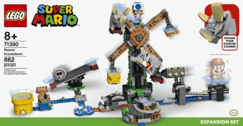 LEGO® Super Mario Reznor Knockdown Perspective: left