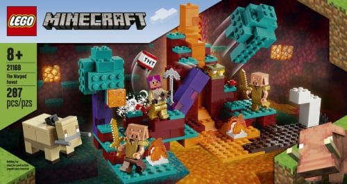 LEGO® Minecraft The Warped Forest Perspective: left