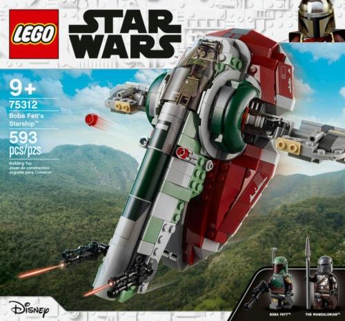LEGO® Star Wars Boba Fett's Starship Building Set Perspective: left