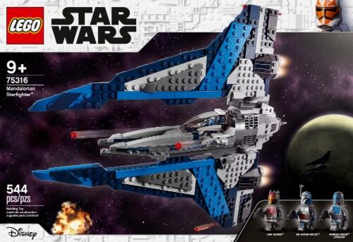 LEGO® Star Wars Mandalorian Starfighter Perspective: left