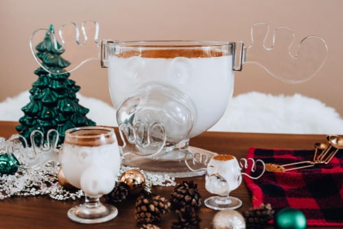 National Lampoon's Christmas Vacation Griswold Moose Punch Bowl   136 Ounces Perspective: left