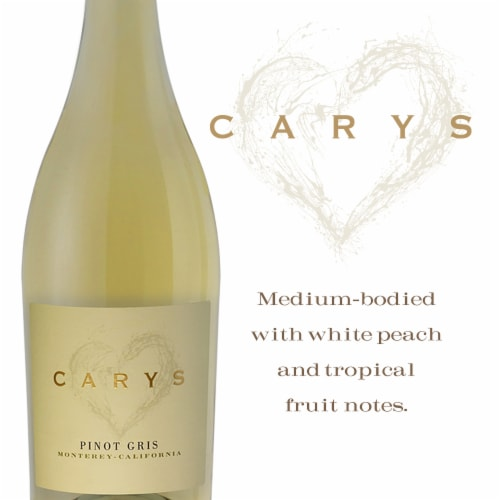 Cary's Pinot Gris Perspective: left