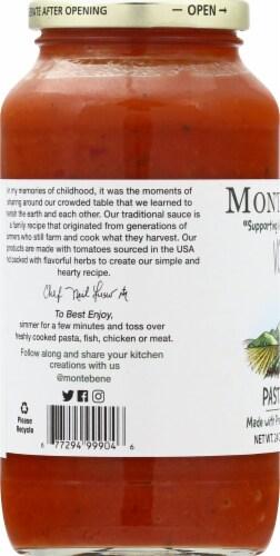 Monte Bene Vodka Pasta Sauce Perspective: left