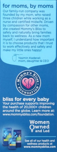Mommy's Bliss Little Gums Organic Soothing Massage Gel Perspective: left