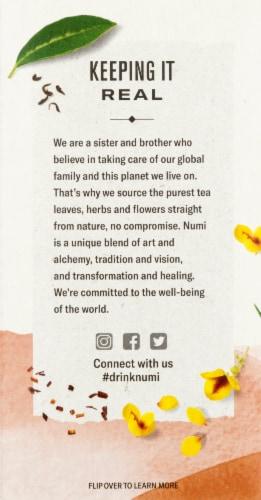 Numi Organic Honeybush Tea Perspective: left