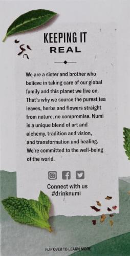Numi Organic Moroccan Mint Tea Bags Perspective: left