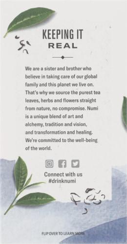 Numi Organic Emperor's Pu-Erh Tea Perspective: left