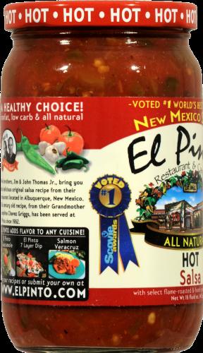 El Pinto Hot Salsa Perspective: left