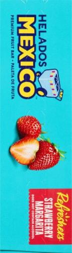 Helados Mexico Refreshers Strawberry Margarita Paletas Fruit Bars Perspective: left