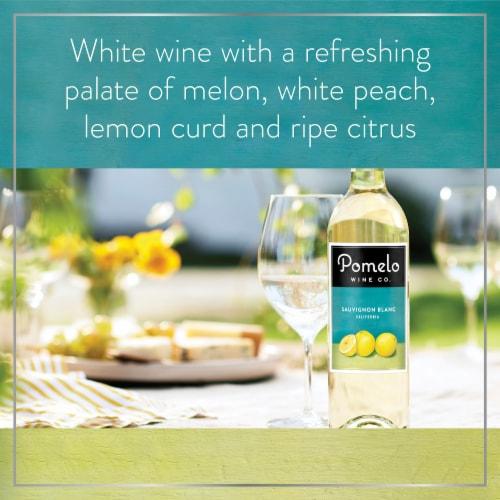 Pomelo Sauvignon Blanc White Wine Perspective: left
