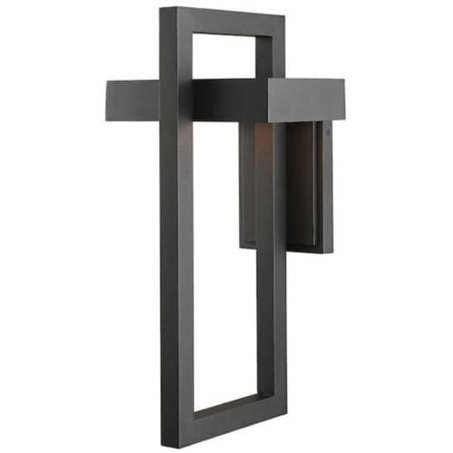 Luttrel 1 Light Outdoor Wall Sconce Perspective: left