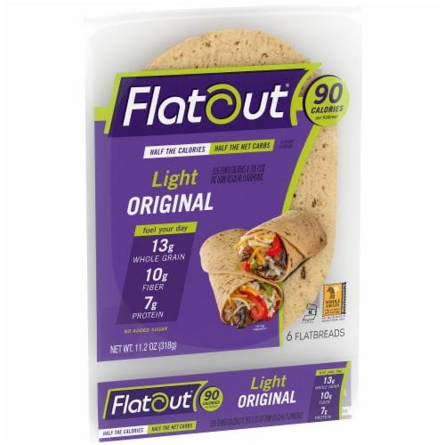 Flatout Light Original Flatbread 6 Count Perspective: left