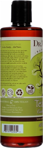Dr. Woods Shea Vision Pure Castile Soap Tea Tree Perspective: left