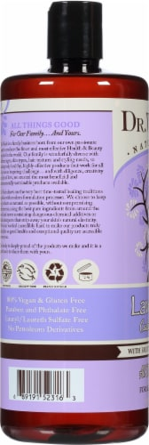 Dr. Woods Naturally Castile Soap Lavender with Fair Trade Shea Butter Perspective: left