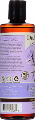 Dr. Woods Naturally Castile Soap with Fair Trade Shea Butter Lavender Perspective: left