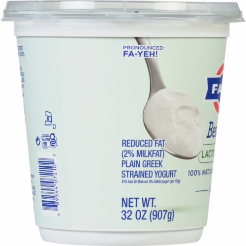 Fage BestSelf Plain Yogurt Perspective: left