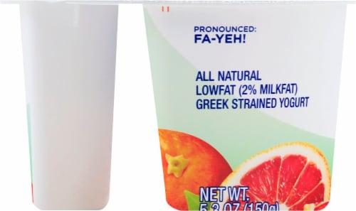 Fage Total 2% Milkfat Blood Orange Yogurt Perspective: left