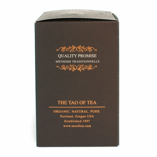 The Tao of Tea Organic Sen-Matcha Green Tea Bags Perspective: left