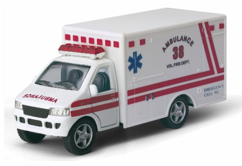 MTI Diecast Pullback Car - Assorted Perspective: left