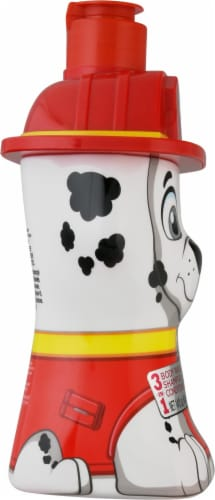 Nickelodeon Paw Patrol Pawsome Berry Scented 3-in-1 Body Wash Shampoo and Conditioner Perspective: left