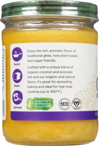 Nutiva Vegan Ghee Perspective: left