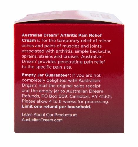 Australian Dream Arthritis Pain Relief Cream Perspective: left