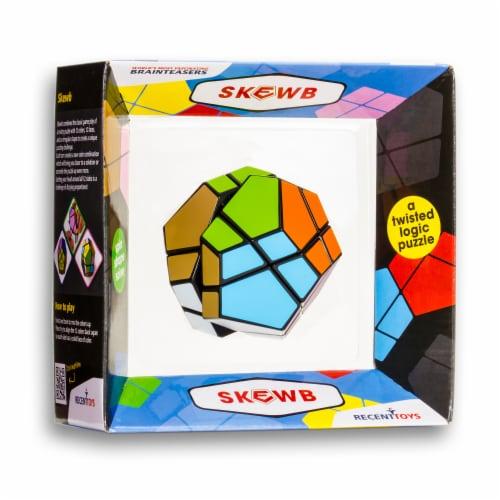 Recent Toys Meffert's Skewb Puzzle Perspective: left