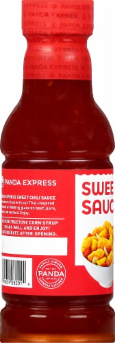 Panda Express Sweet Chili Sauce Perspective: left