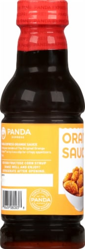 Panda Express Orange Sauce Perspective: left