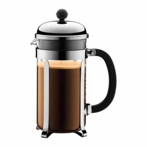 Bodum Chambord French Coffee Press - Chrome Perspective: left