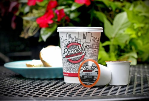 Brooklyn Beans Express-O Coffee Pods for Keurig K-Cups Coffee Maker 40 Count Perspective: left