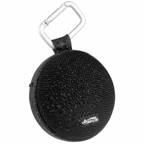 Acoustix Wireless Waterproof Speaker - Black Perspective: left