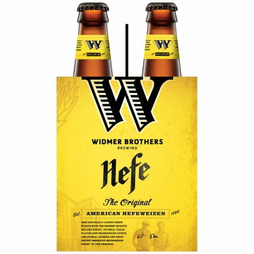 Widmer Brothers The Original American Hefeweizen Perspective: left