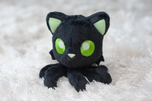Tentacle Kitty Series Little One Moonlight Plush Collectible | 4 Inches Tall Perspective: left